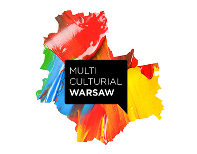 """Logo for """"Multiculturial Warsaw"""""""