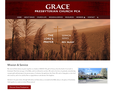 Grace PCA UX, Creative Direction, Build