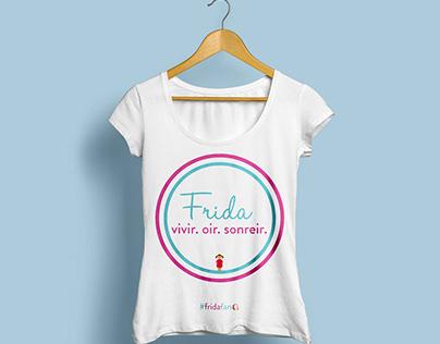 Frida's Hearing Aid Donation Shirt