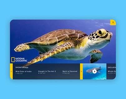 National Geographic TV UI