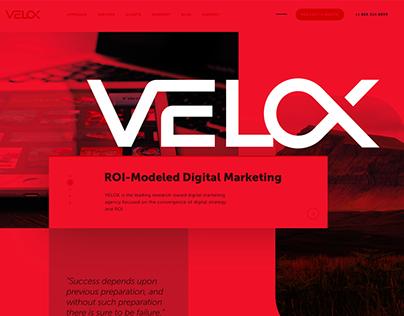 Velox - Website Redesign
