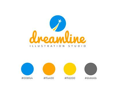 Dreamline Illustration - Logo