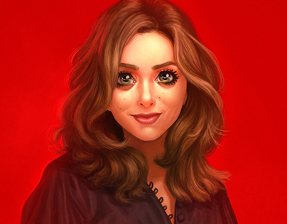 Elizabeth Olsen ( Lizzie ) - Feiticeira Escarlate