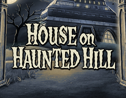 House on Haunted Hill - Pulltabs Game