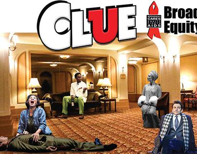 CLUE board game - Broadway 2017
