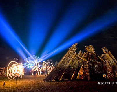 FloydFest - Fire On The Mountain - Art Installation