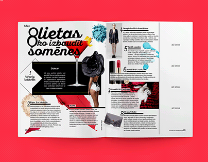 Layouts for Cosmopolitan 2016