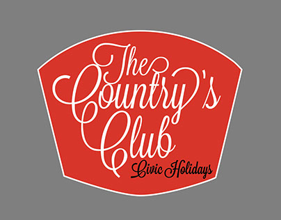 The Country's Club Civic Holidays Campaign