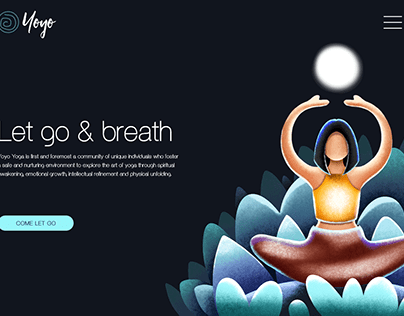 Yoyo Yoga Landing Page