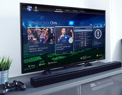 PlayStation F.C UEFA Champions League PS4 App