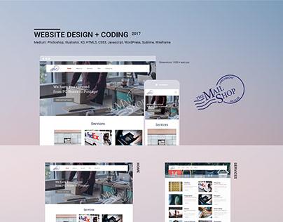 Website Design + Coding