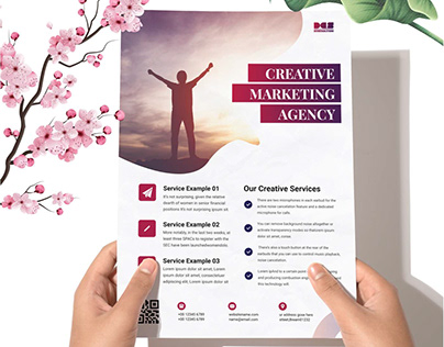Dev Marketing Business Agency Flyer