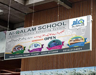 billboard (Al qalam schooling system)