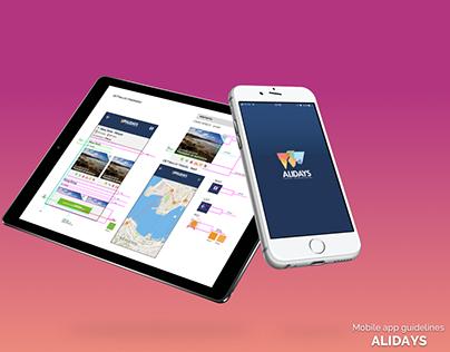 Alidays App Styleguide