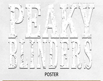 """Peaky Blinders Season 6 """" poster """""""