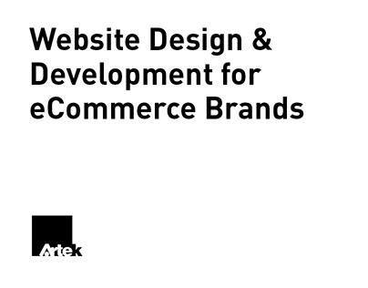Website Design & Development for eCommerce Brands