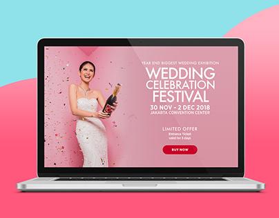 Wedding Celebration Festival 2018 Web Design