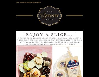 Sydney Shop Newsletter Email Template Design