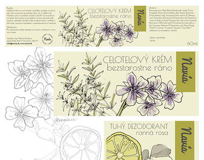 navia package design