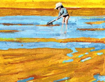 Summer in Bretagne - illustration
