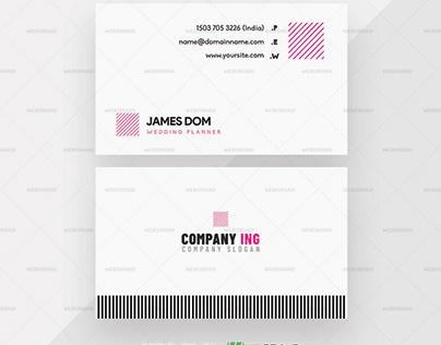 Fareo Simple & Minimal Business Card Template Premium
