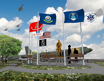 Vietnam Air War Memorial Park / Project 'Welcome Home""