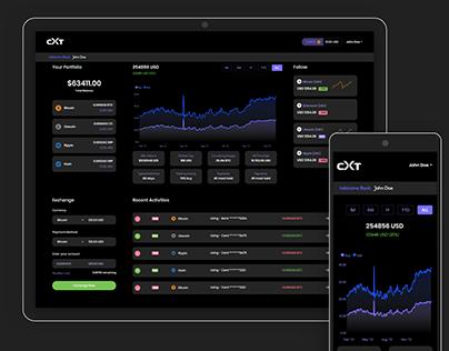 Crypto Trading Platform Concept