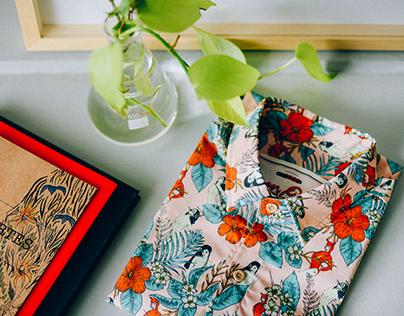 Dion Ochner camisas Veranico e Jasmim Manga