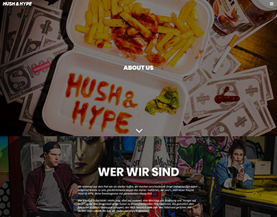 Hush & Hype - Website (https://hushandhype.de)