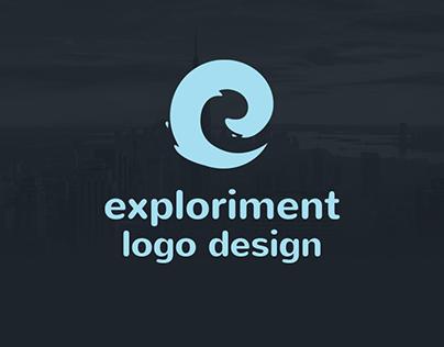 exploriment.io Logo Design
