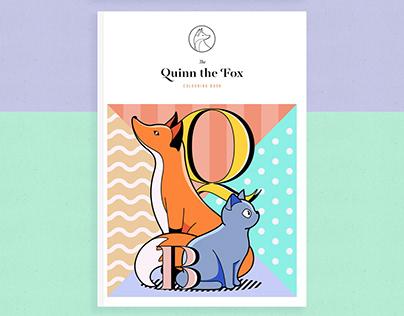 Quinn the Fox Colouring Book #StayHome