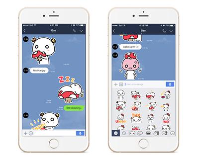 Animated Stickers for Line Messenger - Jim Jar