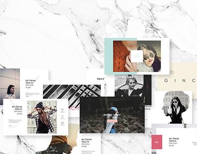 GINCHU | Presentation Design Template