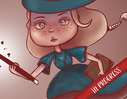 Magical girl (in progress)