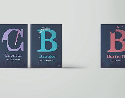 Redesigning Novel Covers: V.C. Andrews novels