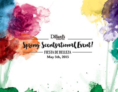 Dillard's Spring Scentsational Event
