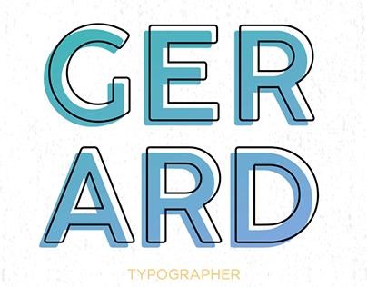 Gerad Unger - Typographer