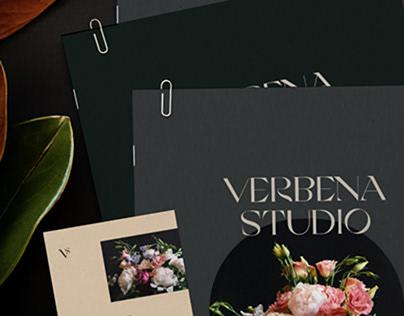 Verbena — Floral Studio Brand Identity Concept