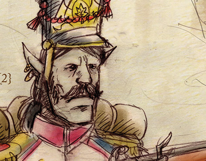 Ten Thousand Years' War-Poster Series