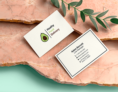 Food Delivery Business Card