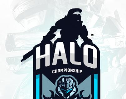 "'Halo Championship"" Logo Concept"