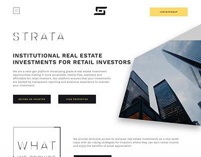 Strata - Real-estate micro-investment platform
