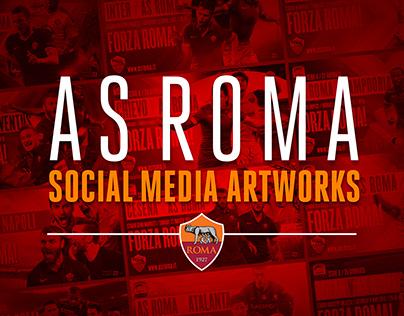 Official AS Roma Social Media Artworks