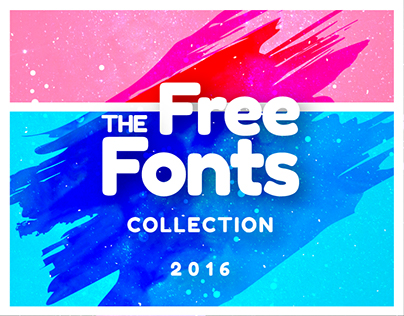 Best Free Fonts in 2016 Collection