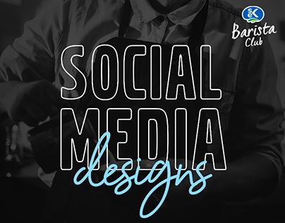 SEK Barista Club - Social Media Designs