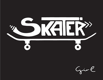 Skater Girl Illustrations