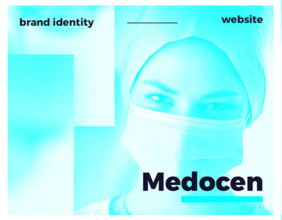 Medocen // brand identity & website design