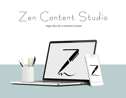 Logo for a copywriter