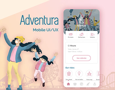Amusement Park - UI/ UX