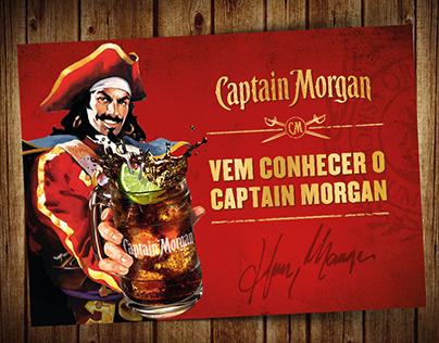Vem Conhecer o Capitão - Eventos Captain Morgan